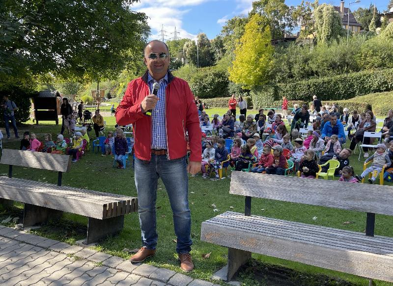 Hodovy piknik vo vodarenskej zahrade v Karlovej Vsi. 19.september 2021 Bratislava