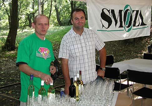 Rybársky deň spoločnosti SMOZA otvoril pán riaditel pri chovnom rybníku v Stupave.