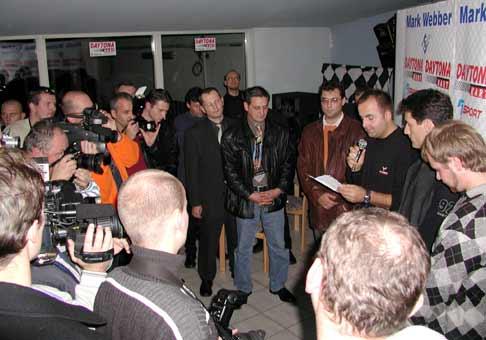 Príchod Marka Webbera na Slovensko zaujal nielen novinárov, ale aj verejnosť.