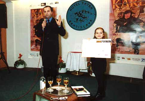 Krst knihy Karla Gotta v hoteli Tatra.