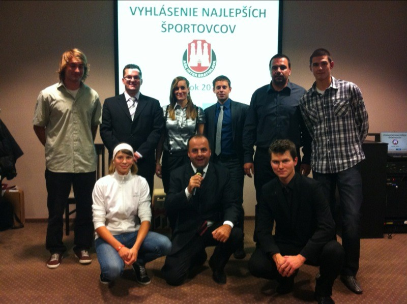Vyhlásenie najlepších športovcov AŠK Inter Bratislava. 1.12.2011, Bratislava.