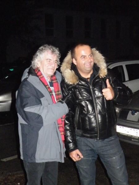 Dan McCafferty, spevák škótskej skupiny Nazareth bol milý, skromný a veľmi priateľský. Skutočná hviezda. 2.11.2011, Bratislava.