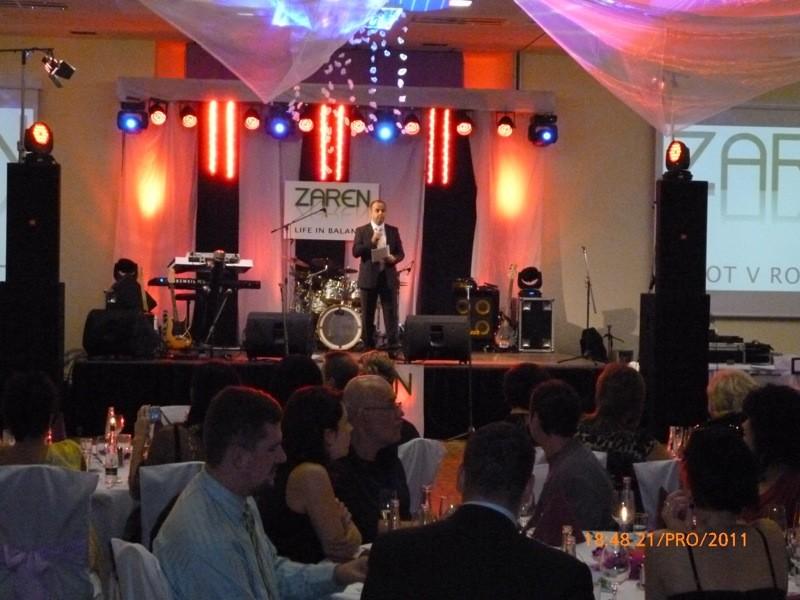Vianočný večierok spoločnosti Zaren v hoteli Senec. 21.12.2011 Senec