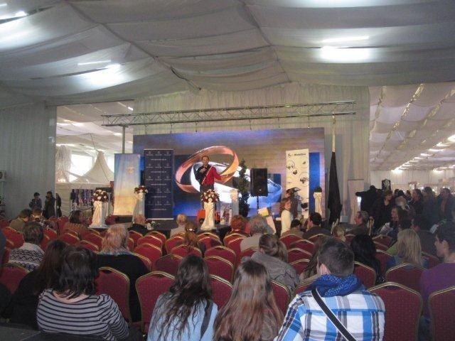 Live Aukcie na Inchebe počas Svadobného veľtrhu. 3.2.2012, Bratislava.