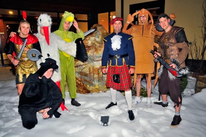 1. Kongres rozprávkových bytostí v Hoteli Zochová chata. 18.2.2012, Modra.