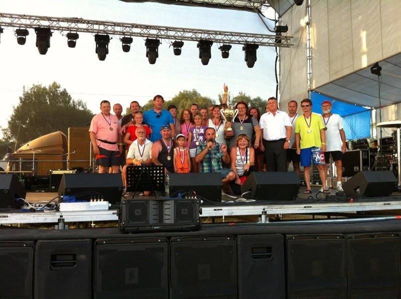 Dragon boat 2012 a Resta group Skalica music fest. 30. júna 2012. Skalica.