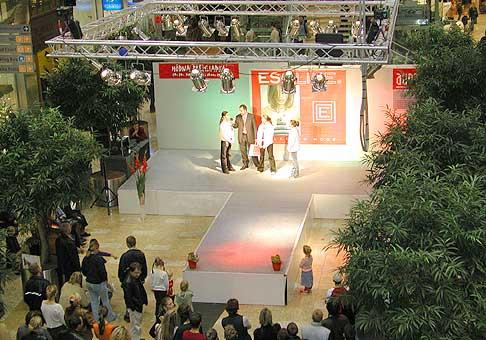 Módna show Esoline v Auparku.