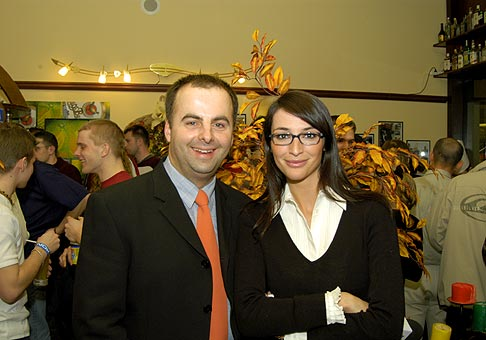 S moderátorkou Smotánky Luciou Hablovičovou.