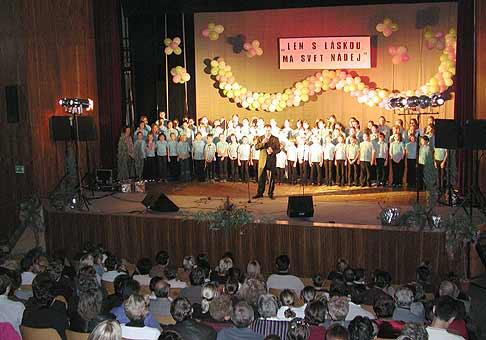 Benefičný koncert na pomoc detskému oddeleniu onkológie na Kramároch v Bratislave.