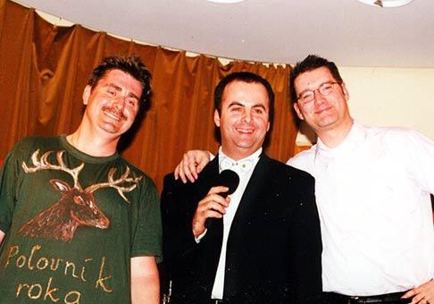 S Pánmi zabávačmi!!! Peter Marcin, Andy Kraus, sú skvelí!