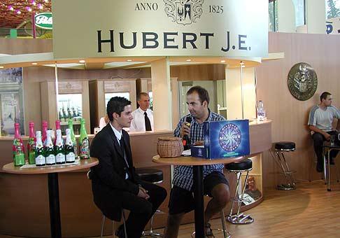 Zábavný program v stánku Hubert počas Agrokomplexu...