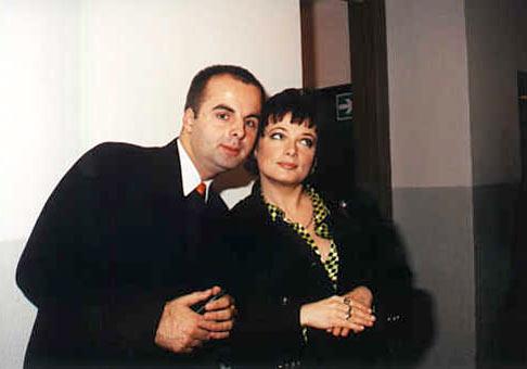 Ja a moderátorka Oľga Záblacká.