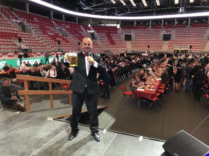 20.ročník Hutnicke pivne slavnosti vo Werk arene. 11.máj 2018 Trinec CR.