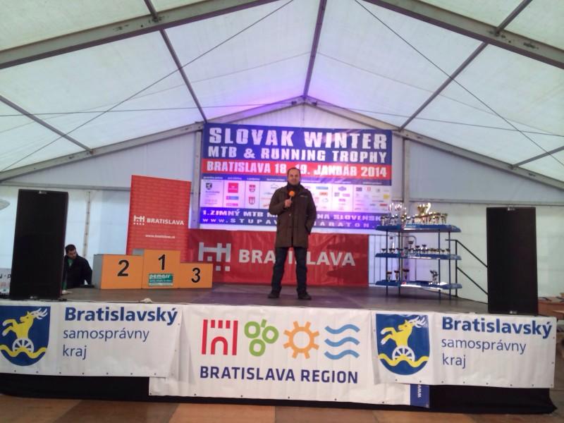 6.ročník MTB maratonu na Železnej studničke. 18.-19.január.2014. Bratislava.