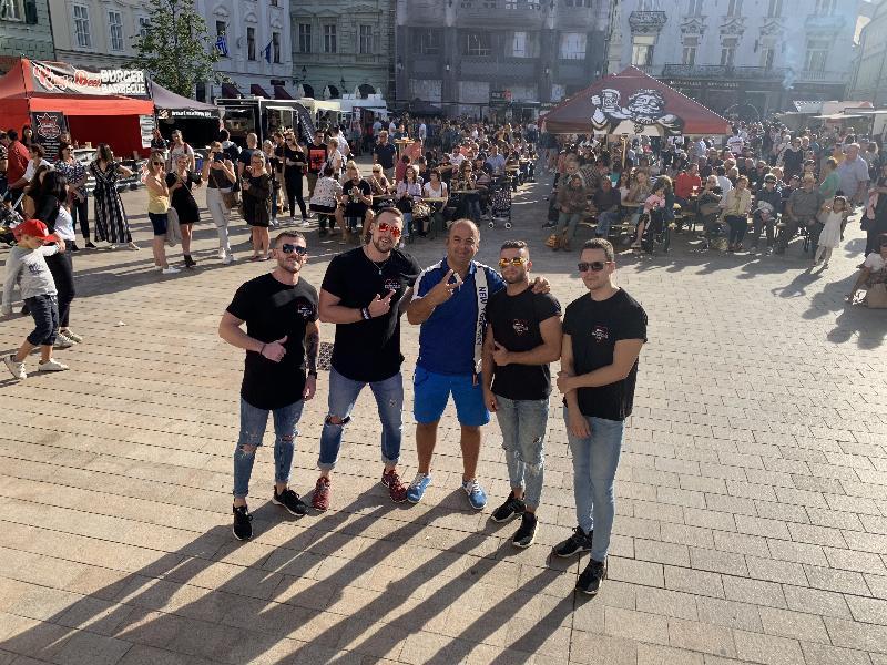 Food Fest na Hlavnom namesti. 13.-15. september 2019 Bratislava.