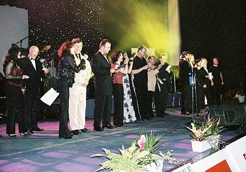 Na koncerte Nájdi svoju nádej vystúpilo veľa československých umelcov.