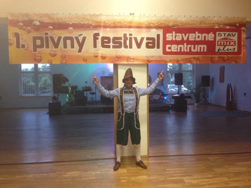 Pivny festival spoločnosti Stavmix. September.2013. Stupava.