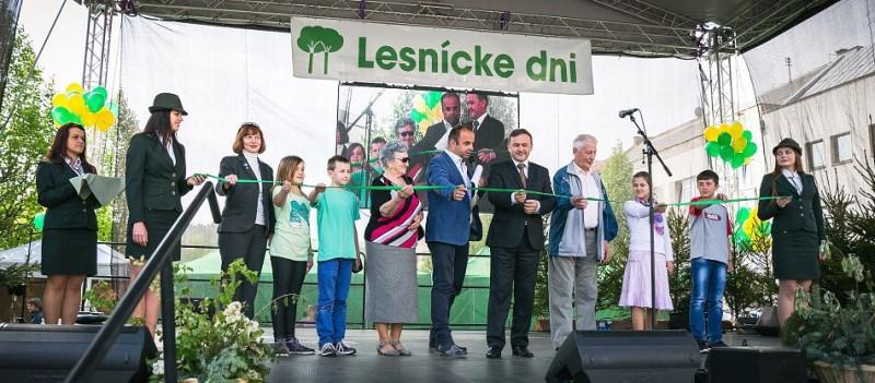 Slavnostne otvorenie 8.ročníka Lesnických dní. 24.apríla.2014. Zvolen.