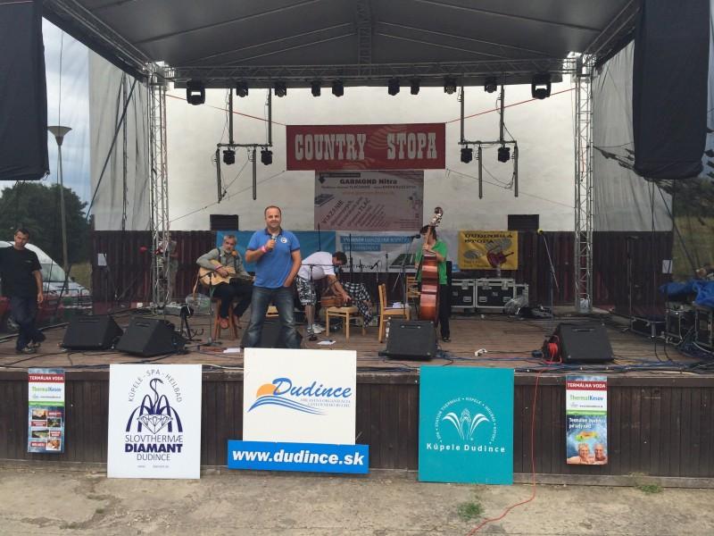 12.ročník country festivalu Country stopa v Dudinciach. 11.-12.júla.2014.Dudince.
