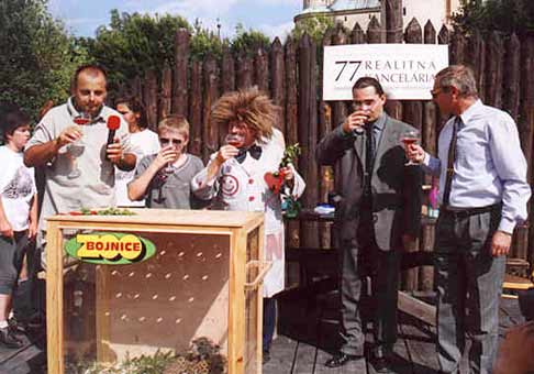 Krst leopardov v ZOO Bojnice.