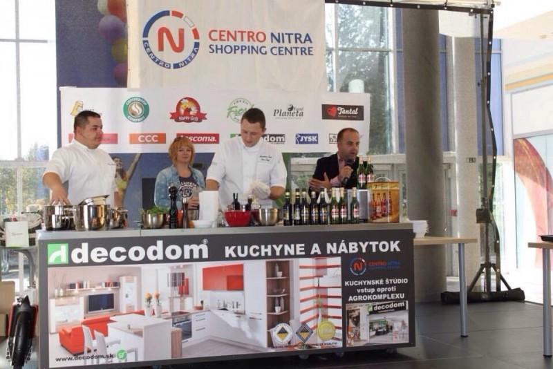 Varenie zabavou. Sympaticka akcia prezentujúca varenie s pivom a tekvicou ako zábavu. 26.októbra.2013. Nitra.