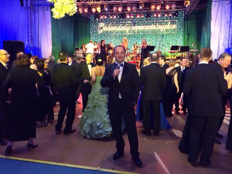 11.reprezentačny ples mesta Nove Zámky. 10.januara, 2014. Nove Zámky.