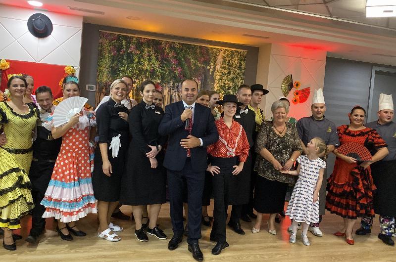 Španielsky večer v hoteli Hviezdoslav. 10.oktober 2019 Kežmarok