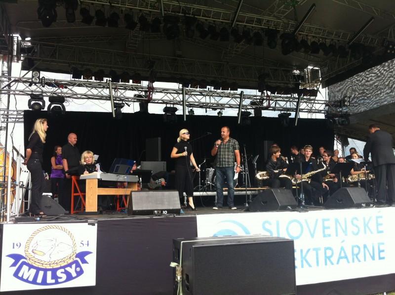 10. ročník festivalu Letná Pauza na letisku v Prievidzi. 14. júla 2012. Prievidza.