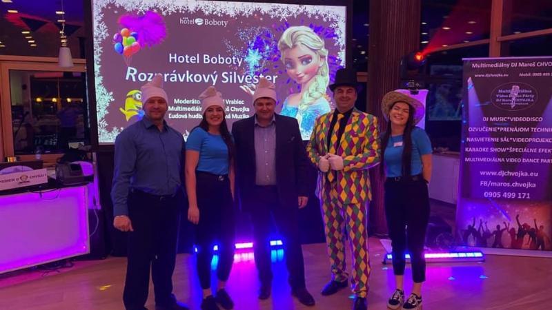 Silvester 2020 v hoteli Boboty. 31.december 2019 Terchova