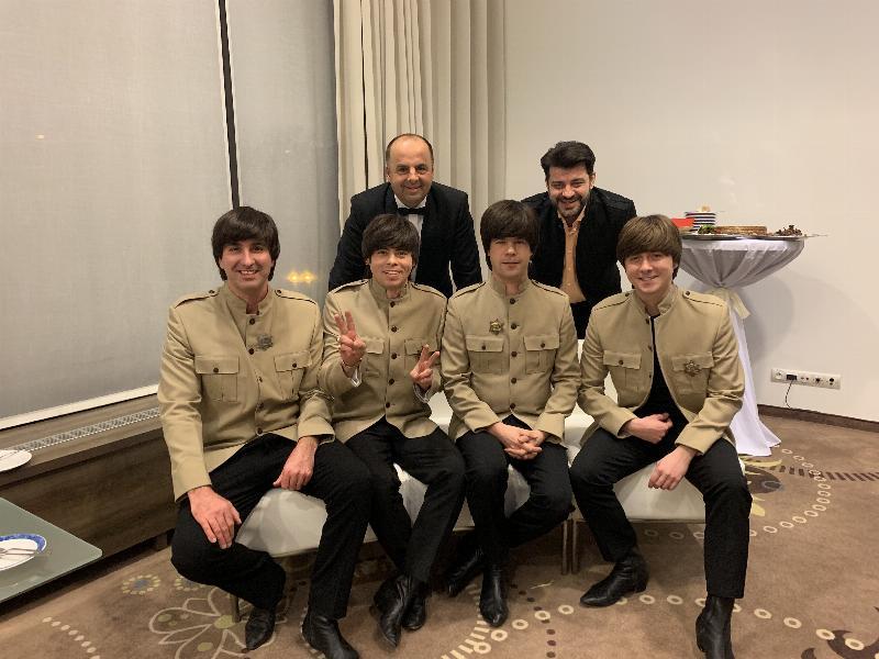 Ples hotela Holiday in v Bratislave v štyle Beatles. 9.februara 2019. Bratislava