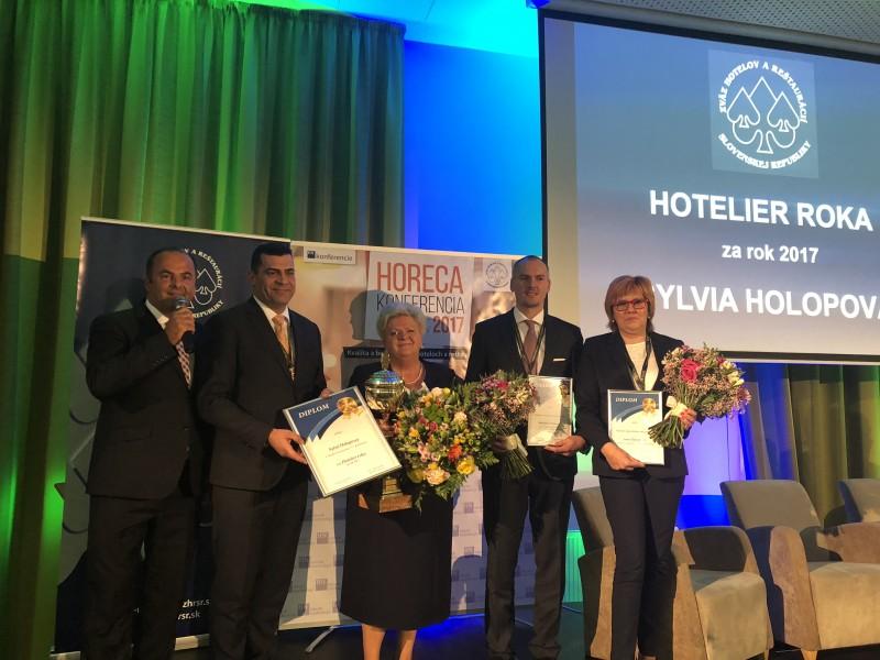 Vyhlasenie ankety Hotelier roka 2017 v Grand Jasna. 7.november. 2017 Jasna.
