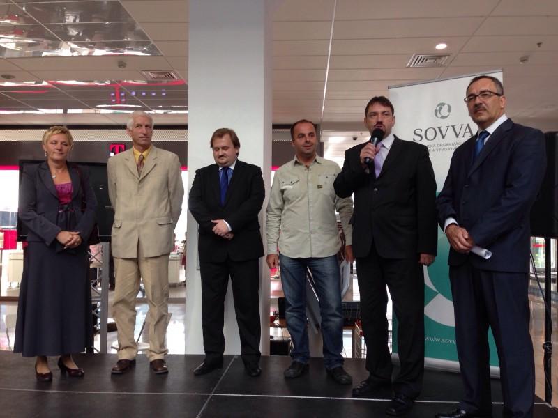 Noc vyskumníkov v Europa shopping centre. 27.septembra.2013. Banska Bystrica.