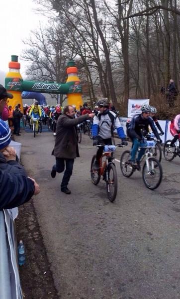 6.ročník MTB cyklomaratón na Železnej studničke. 18.-19.január.2013. Bratislava.