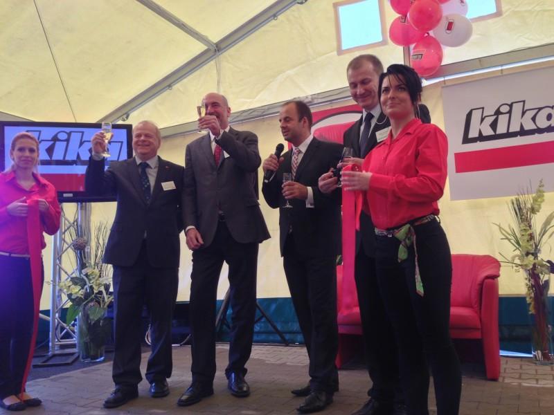Slávnostné VIP otvorenie obchodného domu KIKA v Banskej Bystrici. 7.novembra, 2012. Banská Bystrica.