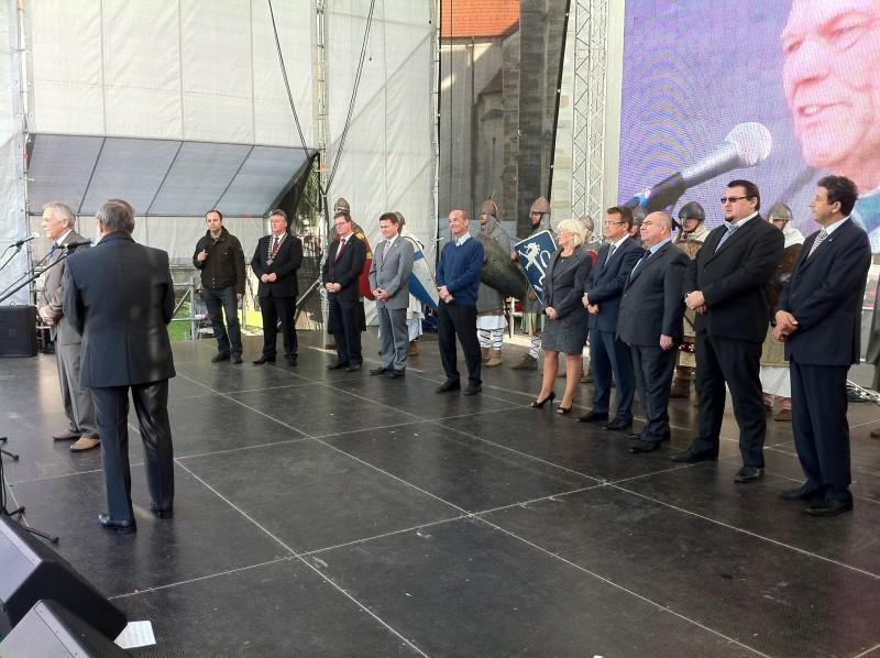 22.ročník Skalických dní, slávnostné otvorenie. 22. Septembra. 2012. Skalica