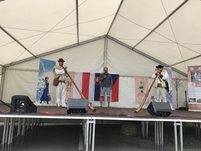 Goralske slavnosti, hotel Husarik. 10.jún 2017 Čadca.