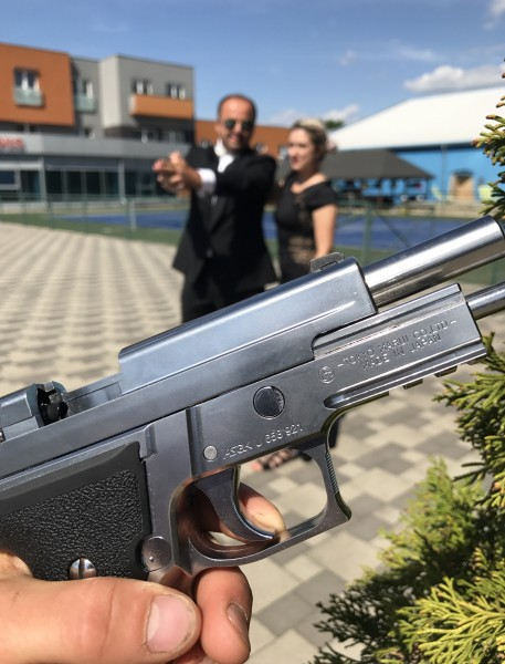 Teambilding v štyle James Bond pre Tatra leasing. 15.jún 2017. Zvolen.