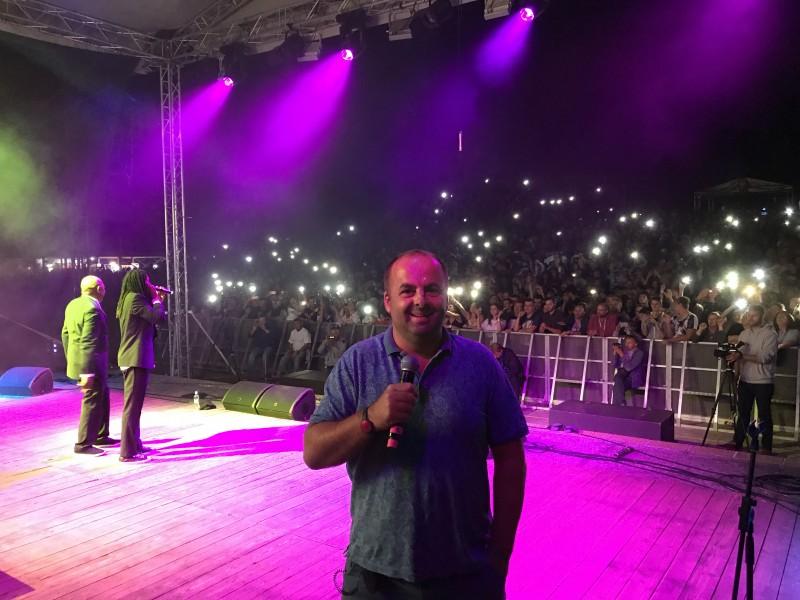 Festival Červenik moderujem 15 rokov. 12.august.2017. Červenik.