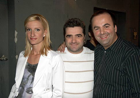 Adela Banášová a Vincenzo z televízneho programu Varí vám to.