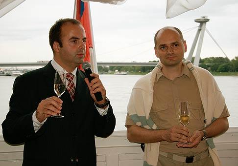 2. narodeniny spoločnosti BESET. 25.5.2006 - Botel Marína.