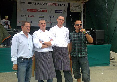 Prvý ročník gurmánskeho podujatia na Tyršovom námestí v Bratislave, Bratislava Food fest 2009. 5 az 7.6.2009.