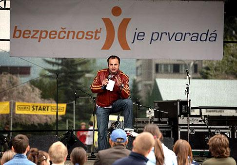 Žiar nad Hronom - akcia Bezpečnosť je prvoradá. 29.4.2006.