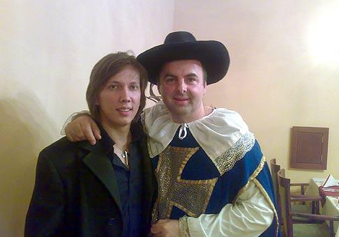 So zlatým slávikom Petrom Cmoríkom. 12.12.2008 Bratislava Devín