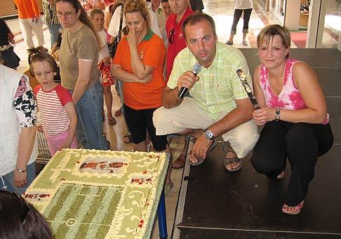 6. narodeniny obchodného centra Danubia v Petržálke.