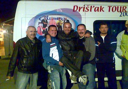 Na slávnostnom otvorení vykurovacej sezóny spoločnosti Empíria nechýbal ani skvelý Drišlak. 26.9.2008 Piešťany.
