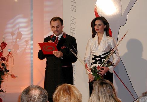 Daniela Sucháčová organizátorka European Fashion Show Slovakia 2004.