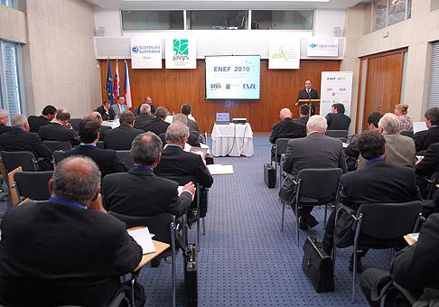 ENEF 2010, Česko-Slovenská konferencia na tému jadrová energetika v hoteli Bôrik. Bratislava 27.5.2010.