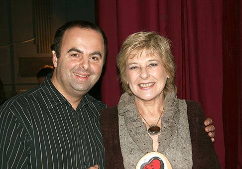 S Oľgou Feldekovou.