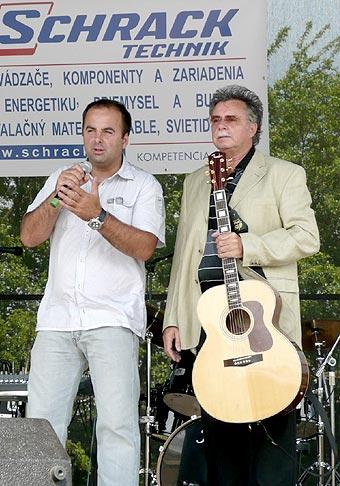 Otvorenie pobočky spoločnosti Schrack Technik v Košiciach. 10.6.2008. S Palom Hamelom :-)