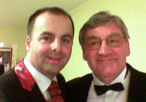 S Karolom Konárikom v hoteli Kaskády, v Sielnici.